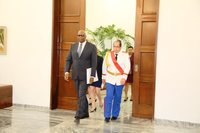 Presentation Of Credentials: Ambassador Ellsworth John