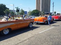 Tourist Attraction: Cuban Classic Cars